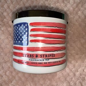 Bath and Body Works Stars & Stripes Candle